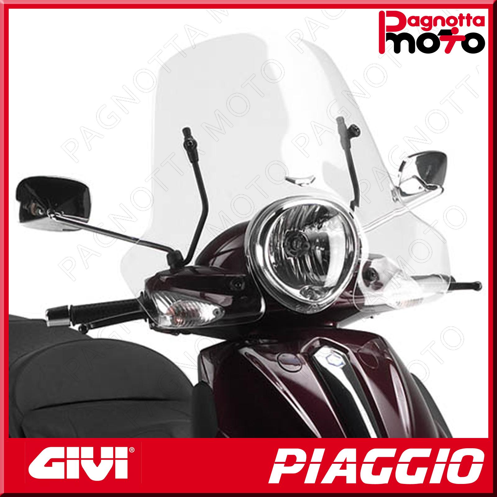 Parabrezza specifico trasparente PIAGGIO Beverly Tourer 125-250 2008  103A GIVI